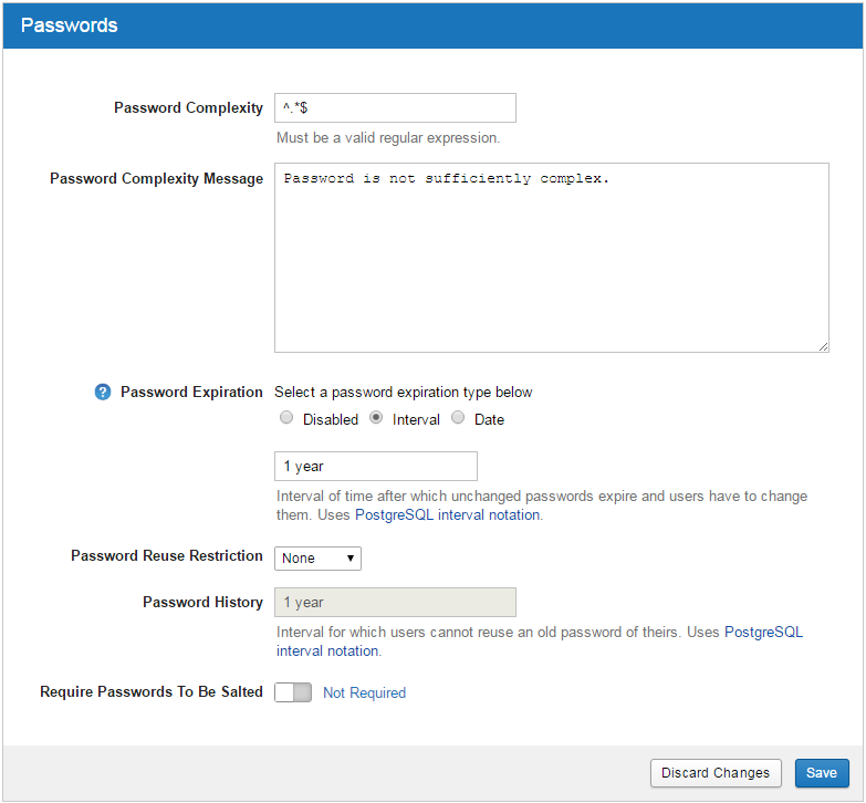 Xnat Security Settings In The Admin Ui Xnat 17 Documentation