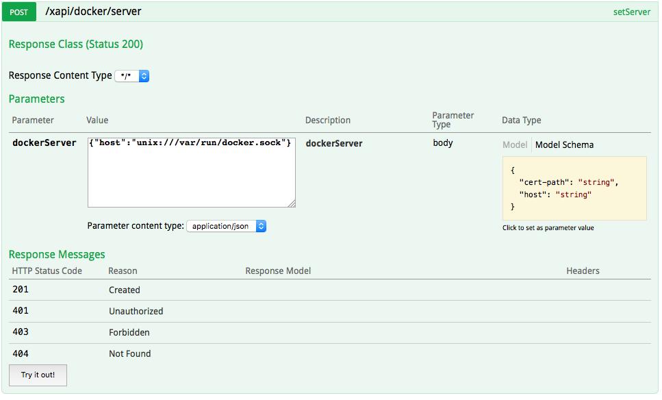 XNAT Workshop: Step 1 of 5: Register a Docker Server